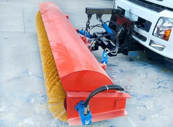 2.5米推置式雪滚