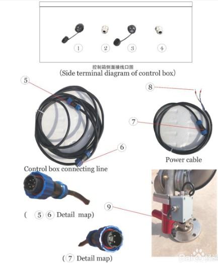 洒水车电控洒水炮的安装使用图解
