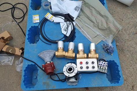 四套电控气自动球阀