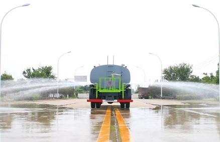 国六12方东风华神KL5洒水车图片