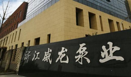 杭州威龙洒水车泵厂家图片