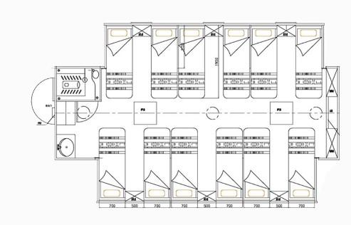 庆铃五十铃单桥宿营车结构图片