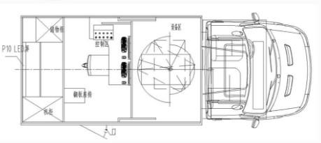 齐星牌隧道检测车结构图片