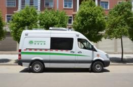 机动车排气污染遥感监测车