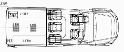 庆铃五十铃环境监测车结构图片