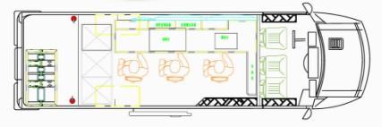南京依维柯电视车结构图