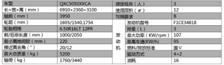 南京依维柯消防宣传车主要参数