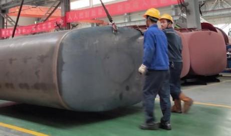 程力洒水车水罐制作详细步骤分析
