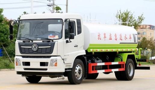 东风天锦国六12吨洒水车图片
