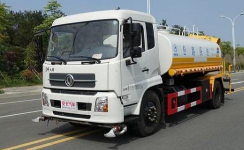 东风天锦国六14吨洒水车