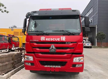 消防机器人运载车多方位图片