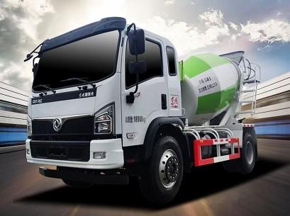 国六东风福瑞卡混凝土搅拌运输车图片